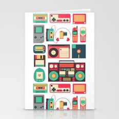 Retro Technology Stationery Cards