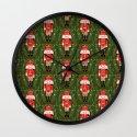 Nutcracker by Andrea Lauren  Wall Clock