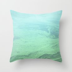 Algae  Throw Pillow