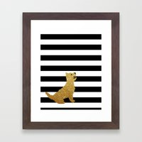Highland Westie Terrier … Framed Art Print