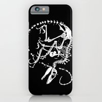 iPhone Cases featuring Deinonychus by Bouletcorp