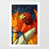 Samus (Metroid) Art Print