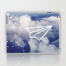 Paper Plane Laptop & iPad Skin