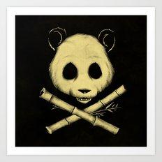 The Jolly Panda Art Print