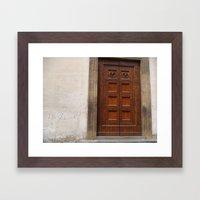 italia 533 Framed Art Print