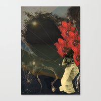 Stars and Tides Canvas Print