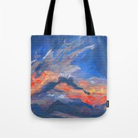 Cloudscape 2 Tote Bag