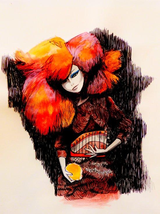 Björk - Biophilia Canvas Print
