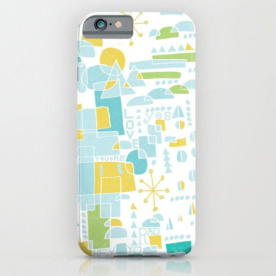 ABSTRACT LANDSCAPE iPhone & iPod Case