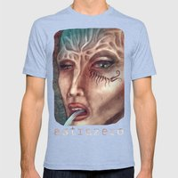 Facial Mens Fitted Tee Tri-Blue SMALL