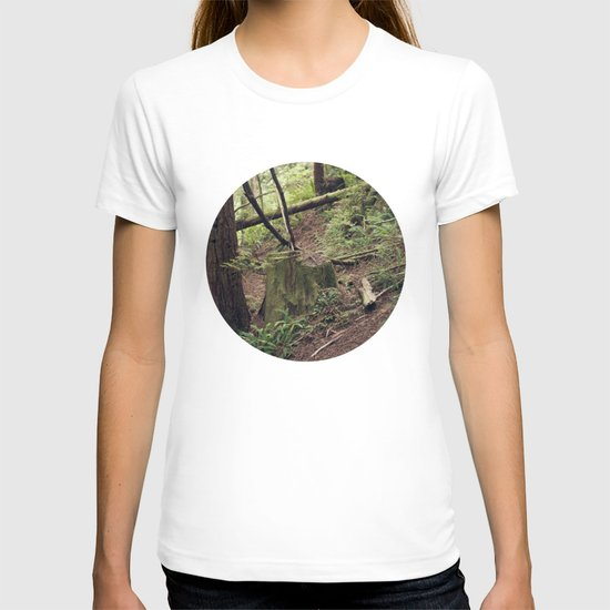 A walk in the Redwoods T-shirt