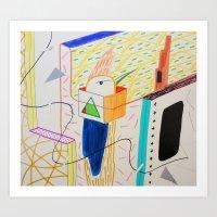 TORNASOL Art Print