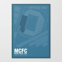 Maine Road - It's Where I Grew Up Canvas Print