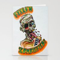Zombiefied Stationery Cards