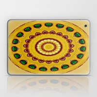 Golden Jewel With Emeral… Laptop & iPad Skin