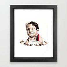 O Captain, My Captain Framed Art Print