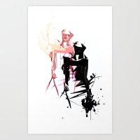 Fashion #2 Art Print