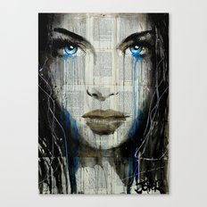 BLUE COAST Canvas Print