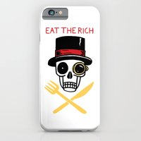 EAT THE RICH iPhone 6 Slim Case