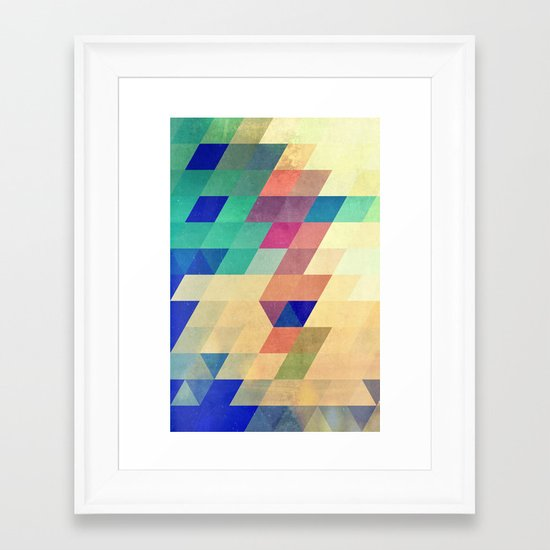 dyrzy Framed Art Print