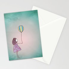 One Ballon Stationery Cards