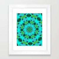 Native Mandala B Framed Art Print