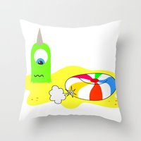 BUBOL BALL Throw Pillow