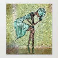 Lethal Woman Canvas Print