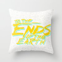 Ends Throw Pillow