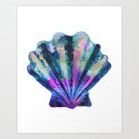 Seashell #7C Art Print