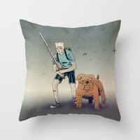 Time For Adventuring Throw Pillow