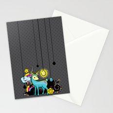 Kawaii Deer Stationery Cards
