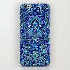 Paisley Blue iPhone & iPod Skin
