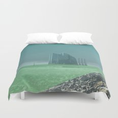 atmosphere 4 · Future comes Duvet Cover