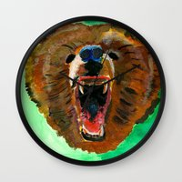 This is a bear Wall Clock