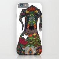 Great Dane Love White iPhone 6 Slim Case