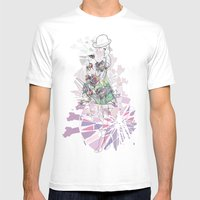 Alice & The Ferris Wheel… Mens Fitted Tee White SMALL