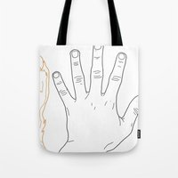 Hands Are All The Same Tote Bag