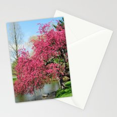 Spring Crabapple Blooms Stationery Cards