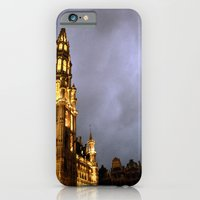 iPhone & iPod Case featuring La Grande Place by Ananya Ghemawat