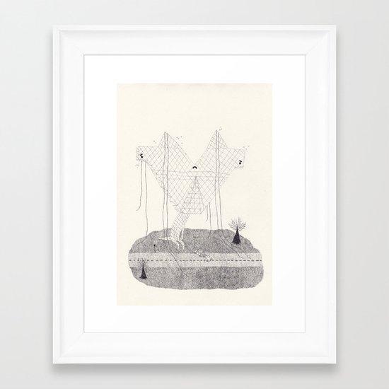 pylonus Framed Art Print