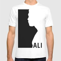 Ali Mens Fitted Tee White SMALL