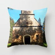 Maria Rast Forest Chapel… Throw Pillow