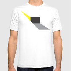 Zap! Mens Fitted Tee White SMALL