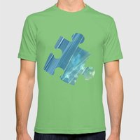 Relaxation Mens Fitted Tee Grass SMALL