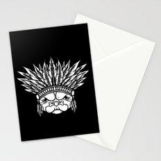 Tribal Pug Stationery Cards