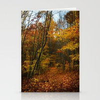 Foliage. Stationery Cards