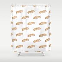 Biscotti Shower Curtain