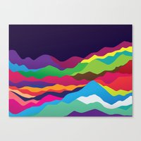 Mountains of Sand Canvas Print
