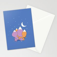 Let sleeping foxes lie Stationery Cards